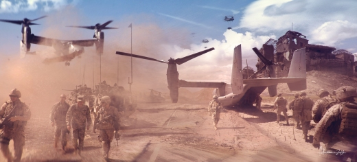 V22 Troops